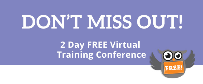 Don't miss this incredible training event that is 100% free.